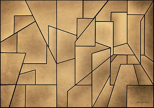 David Gordon - Geometric Abstraction III Toned