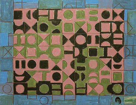 PETER-HUGO MCCLURE - Geometric Basquiat. 2017