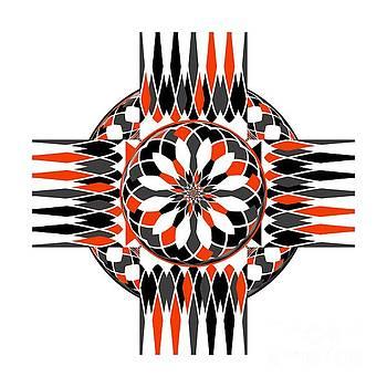 Geometric celtic cross by Gaspar Avila