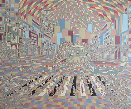 Geometric Curitiba by Muniz Filho