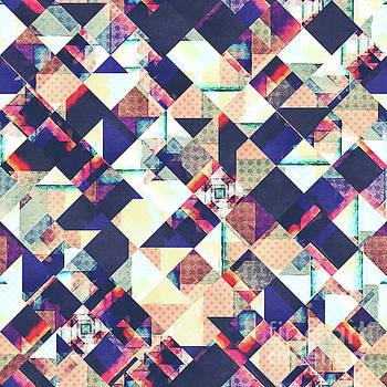 Geometric Grunge Pattern by Phil Perkins