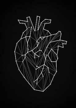 Geometric Heart by Taylan Apukovska