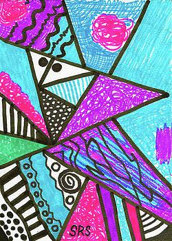 Geometric Interior by Susan Schanerman