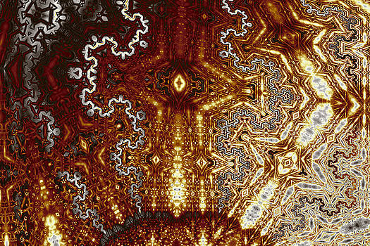 Geometric Patterns No. 43 by Mark Eggleston