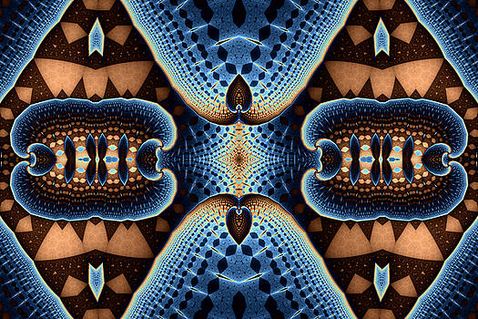 Geometric Patterns No. 49 by Mark Eggleston