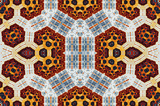 Geometric Patterns No. 51 by Mark Eggleston