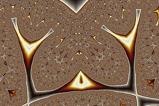Geometric Patterns No. 61 by Mark Eggleston