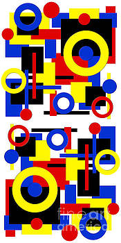Andee Design - Geometric Shapes Abstract V 1