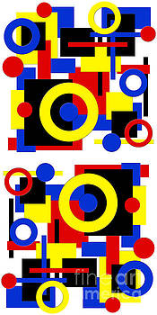 Andee Design - Geometric Shapes Abstract V 2