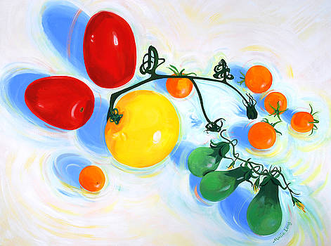 Geometry of Tomatoes by Marcie Ann Long