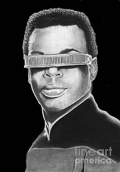 Geordi LaForge by Bill Richards