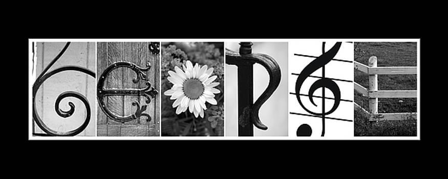 George Alphabet Art by Kathy Stanczak