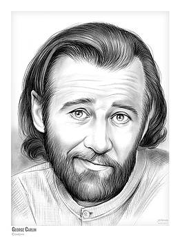 George Carlin by Greg Joens