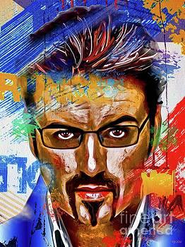 George Michael Painted by Daniel Janda