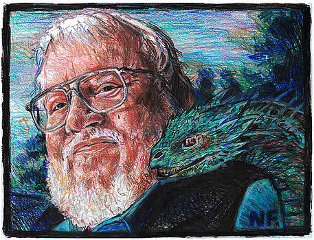 George R. R. Martin Father Of Dragons by Neil Feigeles