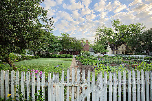 George Reid Kitchen Garden in Spring by Rachel Morrison