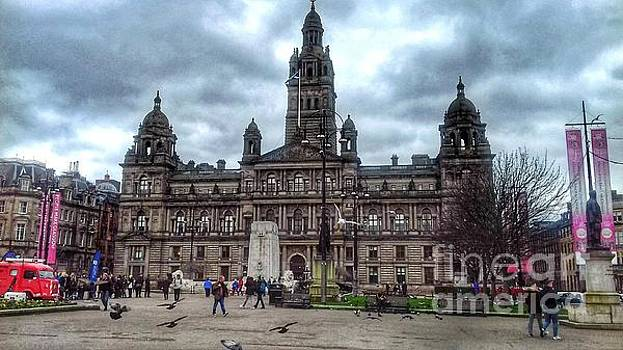 George Square Glasgow 2 by Joan-Violet Stretch