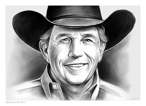George Strait by Greg Joens