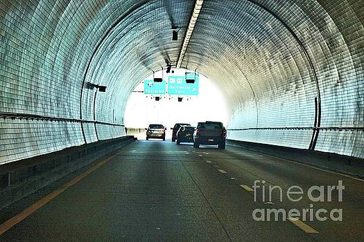 George Wallace Tunnel in Mobile, Alabama by Janette Boyd