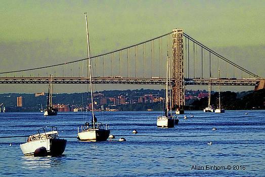 George Washington Bridge by Allan Einhorn