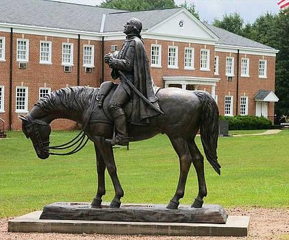 George Washington Equestrian sculpture by Stan Watts and Kim Corpany by Stan Watts and Kim Corpany