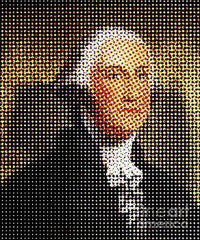 George Washington in Dots  by Paulo Guimaraes