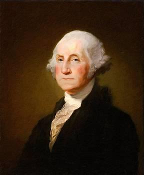 George Washington by Vintage Printery
