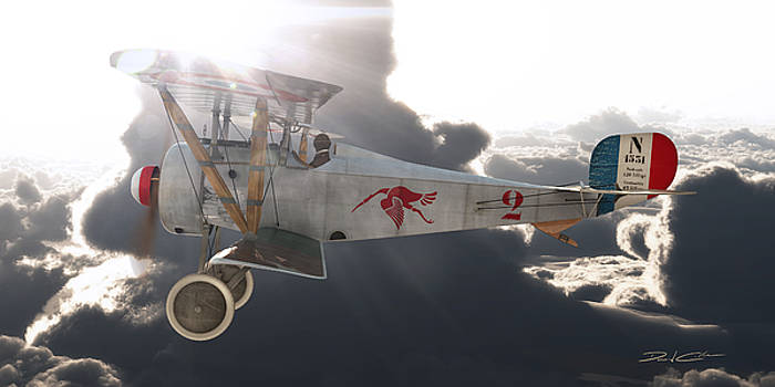Georges Guynemer Nieuport 17 by David Collins