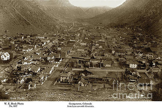California Views Mr Pat Hathaway Archives - Georgetown from Leavenworth Mountain, Colorado circa 1890