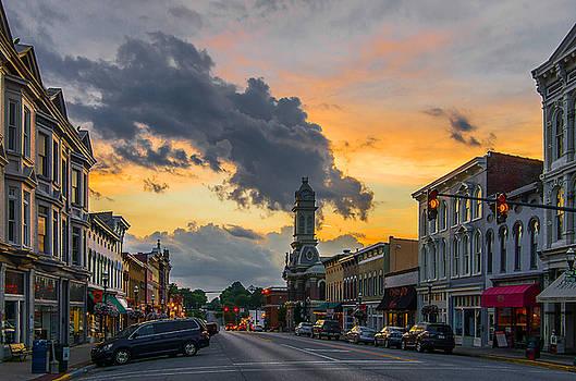 Georgetown Ky summer evening by Ulrich Burkhalter