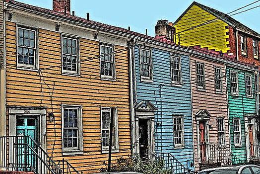 Jost Houk - Georgetown Row
