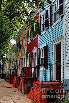Georgetown Shutter Row by Jost Houk