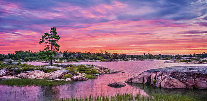 Georgian Bay Sunrise by Tracy Munson