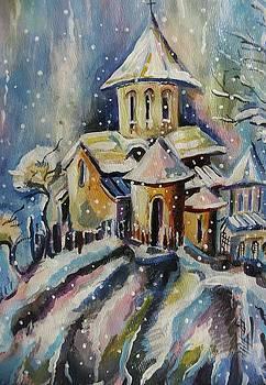 Georgian church by Khatuna Buzzell