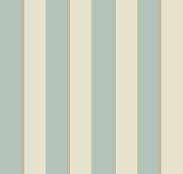 Georgian Stripe Eau de Nil by Sarah Vernon