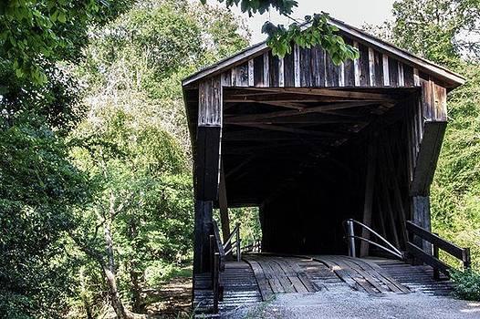 Red Oak Creek Covered Bridge by Randy Bayne