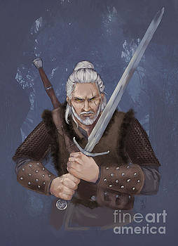 Geralt of Rivia by Brandy Woods