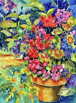 Geranium I by Ann Nicholson