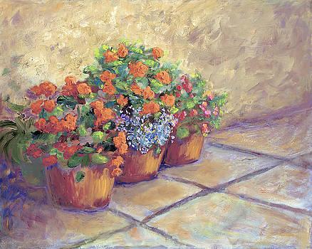 Geraniums by SharonJoy Mason