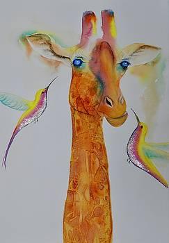 Gerard the Giraffe by Carolyn Judge