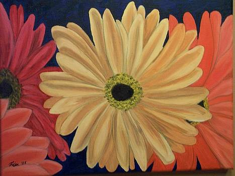 Gerbera Daisies by Lisa Gabrius