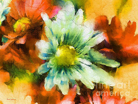 Gerbera Daisy Impressionism by Tina LeCour