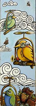 Geriatric Bird Transit System by Teresa Nolen Pratt