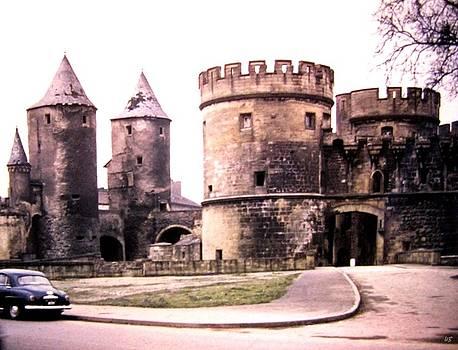 German Gate in Metz 1955 by Will Borden