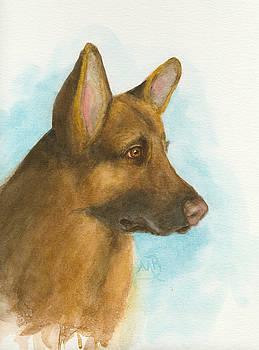 German Shepherd by Monica Burnette