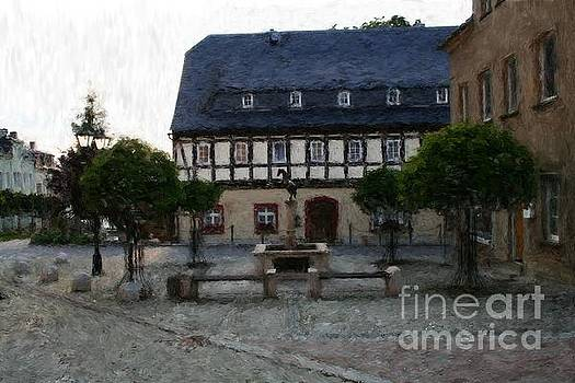 German Town Square by Marc Champagne