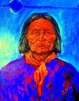 Geromino - Chiricahua Apache leader by Johanna Elik