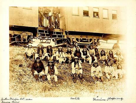 Peter Gumaer Ogden - Geronimo Apache Chief as a War Captive Near Nueces River Texas 1886