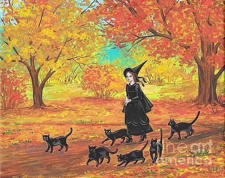 Gertrude and Her Six Companions by Margaryta Yermolayeva