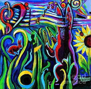 Genevieve Esson - Rabbit Conducting A Mid-Summer Nights Symphony